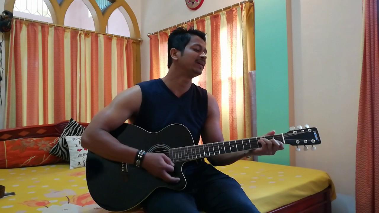 Main Jahaan Rahoon Acoustic Guitar Youtube