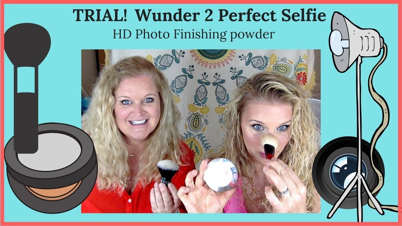 Wunder 2 Perfect Selfie Powder Trial Mature Hautemamas Youtube