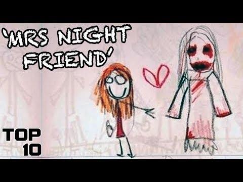 Top 10 Scary Kid Drawings