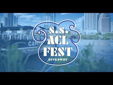 Board the S.S. ACL Fest - 2018 Austin City Limits Music Festival