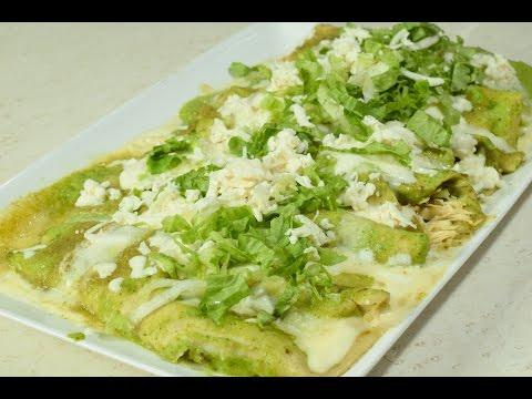 The best Enchiladas Verdes With Chicken to My Style