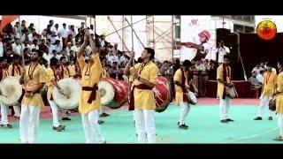 Shivrudra Dhol Tasha Pathak Thane. ( Kallol Dhol Tasha Competition 2016 Thane)