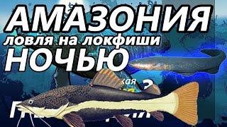 Амазония Ночью Электрический угорь Сом плоскоголовик / РР3 [ Русская Рыбалка 3,9 Гренландия ]