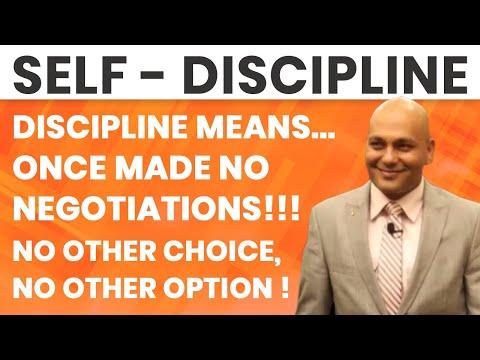 Self - Discipline
