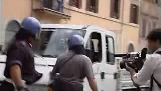 Scontri in piazza Navona, 29 Ottobre 2008