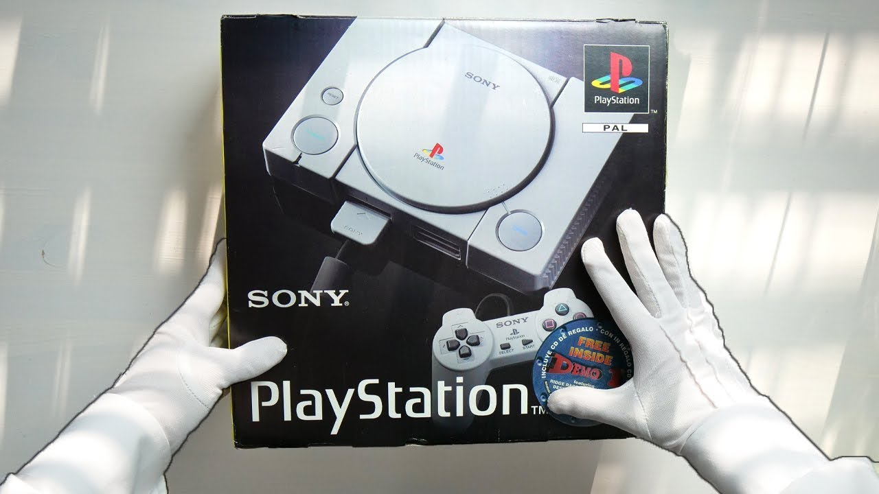 PS1 UNBOXING! Original Sony PlayStation 1 PSX Console (Launch Model) SCPH-1002 Retro Classic
