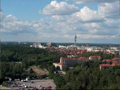 The tower of Helsinki Olympic Stadium