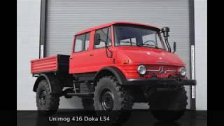 Unimog 416 Doka L34 - Long Wheelbase