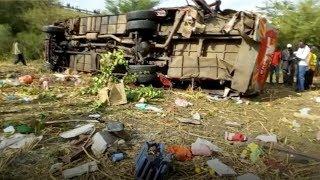 At least 50 dead in Kenya bus crash