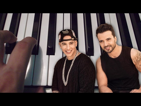 Despacito / Luis Fonsi ft Daddy Yankee   / Piano Tutorial / Notas Musicales / Cover