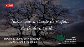 Culto ao vivo | IPB Votorantim | Dia 18/10/2020 | Rev. Welerson Evangelista