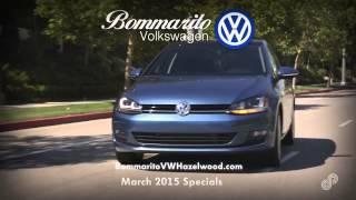 Bommarito Volkswagen Service Specials March 2015 SVC