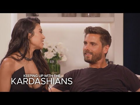 KUWTK | Kourtney Kardashian and Scott Disick Address Their Split | E!