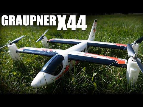 Graupner X44 VTOL | Flite Test