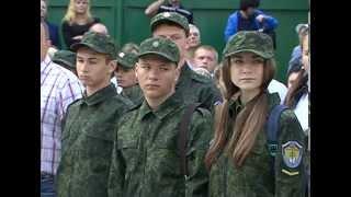 Более 200 первокурсников пополнили ряды курсантов Белгородского правоохранительного колледжа