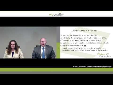 WG University - The FMLA Certification Process