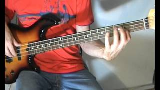 Eric Clapton - Wonderful Tonight - Bass Cover