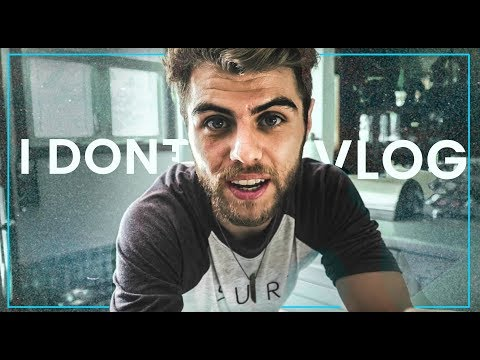 WHY I DON'T VLOG (is it really necessary?)