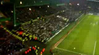 rangers fans at the piggery 4/5/10 10 german bombers