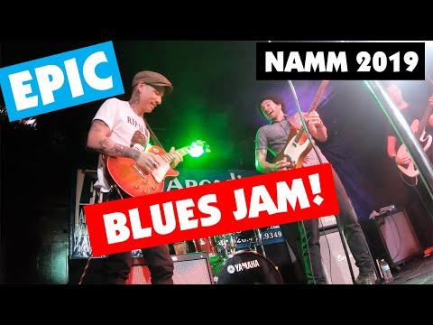 EPIC Blues Jam! - NAMM 2019 Vlog