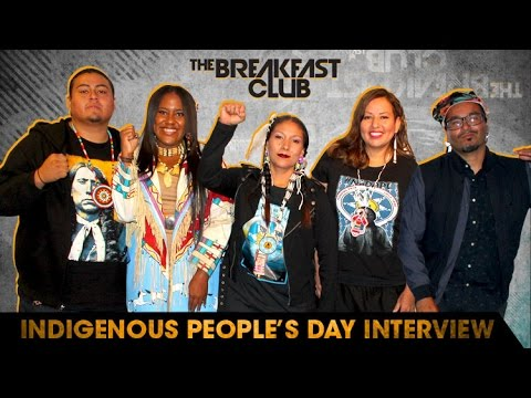 Native Americans Discuss Columbus Day and Issues Plaguing Their Tribes