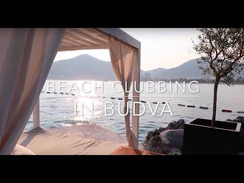 TRAVEL VLOG: BEACH CLUBBING IN BUDVA, MONTENEGRO