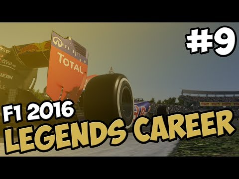 F1 LEGENDS CAREER PART 9 - JAPAN