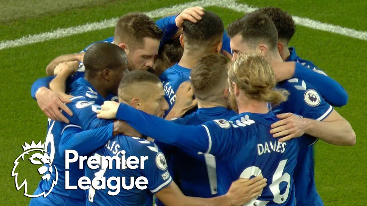 Gylfi Sigurdsson doubles Everton lead over Liverpool | Premier League | NBC Sports
