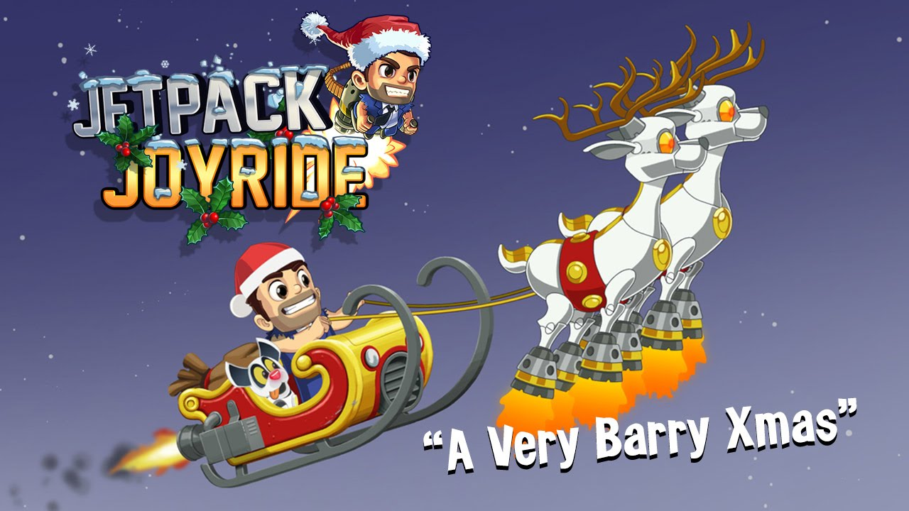 Jetpack Joyride - A Very Barry Xmas - YouTube