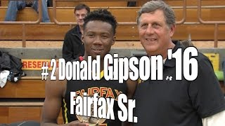 Donald Gipson '16, Fairfax Senior at 2015 UA Holiday Classic