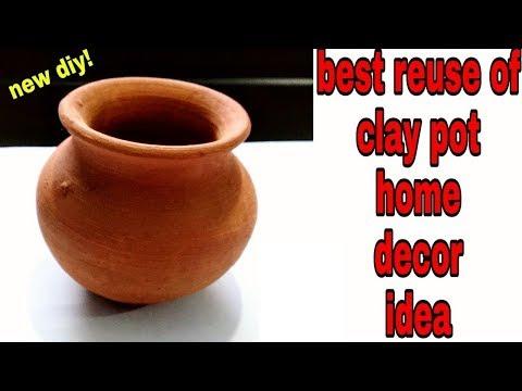 Best out of Clay Pot Room Decor Idea|DIY Room Decor|Creative Ideas