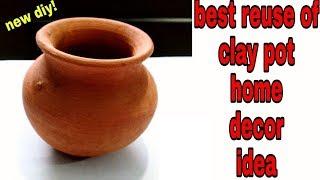 Best out of Clay Pot Room Decor Idea DIY Room Decor Creative Ideas