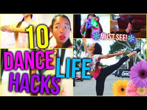 10 Life Hacks EVERY DANCER SHOULD KNOW!
