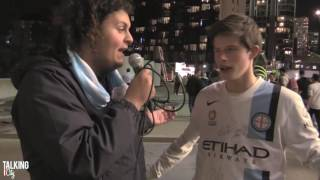 Fan Interviews | Melbourne City 4 Melbourne Victory 1 - 'I hate Victory more than life'