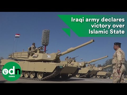 Iraqi army declares victory over Islamic State
