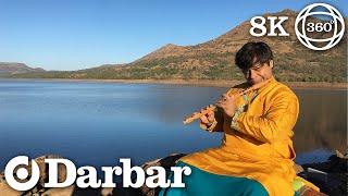 First Ever Carnatic Flute VR360   Raga Bindumalini   Shashank Subramanyam   Darbar VR 360