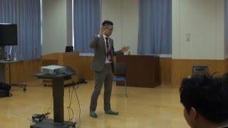2016.2.19 大分県杵築市立山香(やまが)中学校 「聴息法」