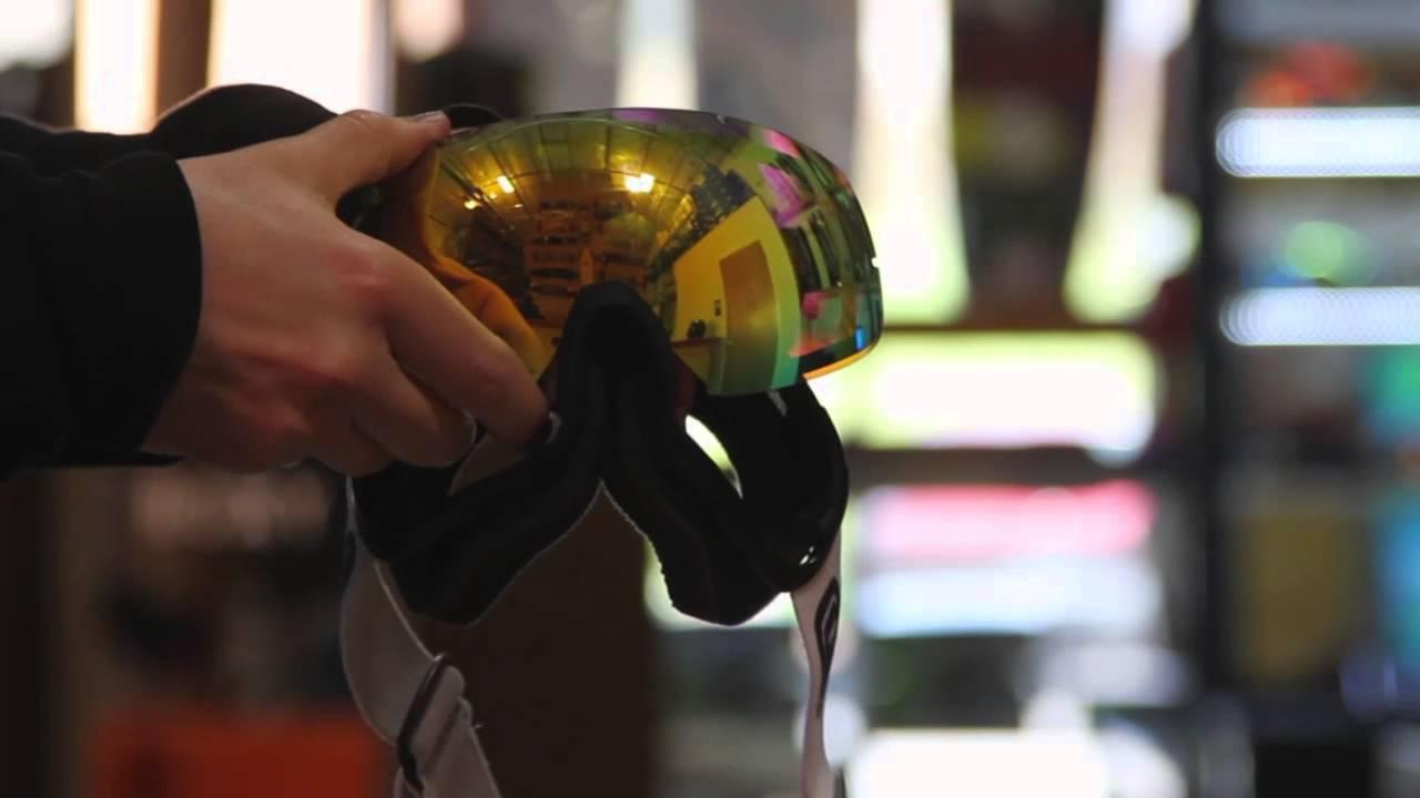 658aa7f980f Grayne Snowboard   Ski Goggles GTO 30 Second Lens Change - YouTube