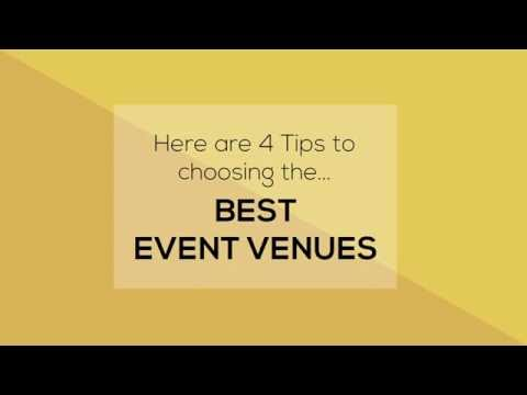 Event Venues Singapore | Corporate Event | Birthday Party | Choosing The Perfect Event Venue