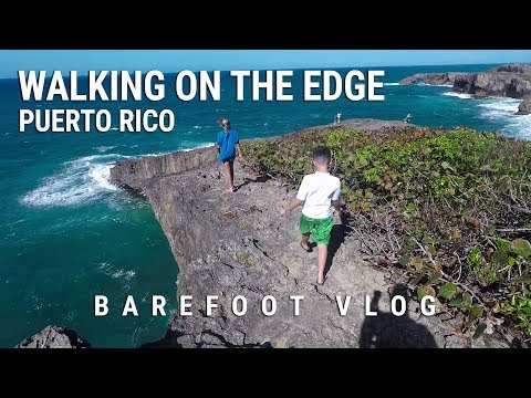 Walking on the edge of the world - Puerto Rico Road Trip Ep. 3