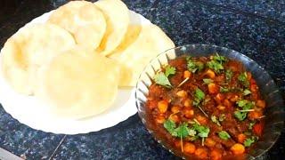 Batoora and chana masala batoora recipechana masala recipetasty and yummykerala style
