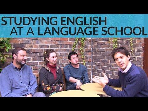 Studying English at a Language School