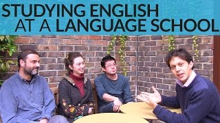 Studying English at a Language School