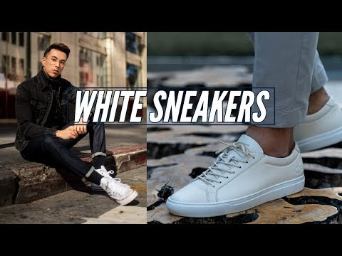 How to Style: White Sneakers || Men's Fashion 2019 || New Republic, Nike, Valentino
