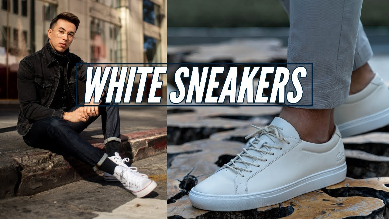 How to Style: White Sneakers || Men's