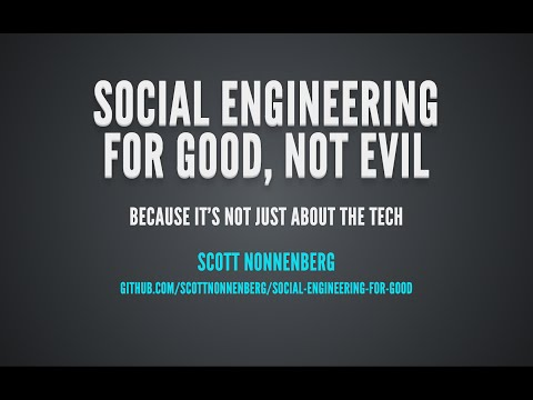 Software Engineering for Good, Not Evil
