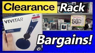 Clearance Sale Deals! Check Out These Retail Bargains!