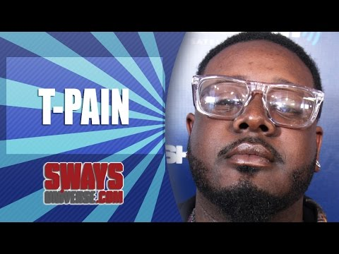 T-Pain Reacts to Chris Brown & Adrienne Bailon Conflict, Talks Kissing Strippers & Greatest Hits