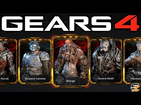 """EVERY GEAR PACK EVER!"" - Gears of War 4 Gear Packs - OPENING 70 PACKS!"