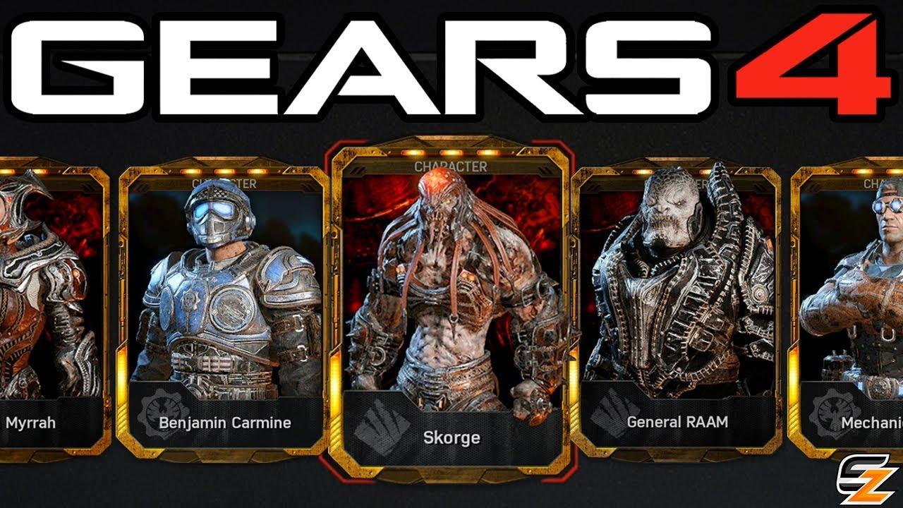 Gears of War 4 Gear Packs Opening
